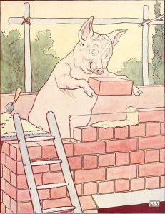 Brick pig
