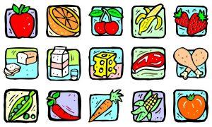 Nursery Rhymes About Food