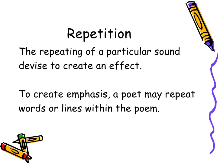 sestina complex repetition yeilds amazing results essay Yet, implicit learning through frequent exposure and usage, when carefully and methodically planned and implemented can yield amazing results 5too much single-word teaching as i repeat ad nauseam in my blogs (eg here ) , teaching single words is less effective than teaching them through functional chunks , ie phrases used in the.