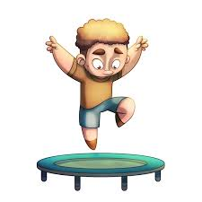 Singing on the Trampoline